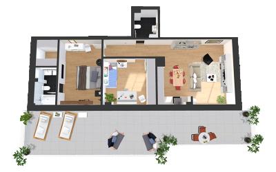 Apartamente cu 3 si 4 camere Gardenia Residence
