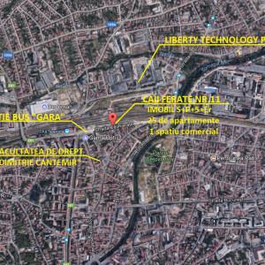 Vanzare apartamente 3 camere, Cluj zona Garii, comision 0% North Side Residence