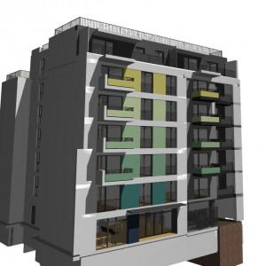Vanzare apartament cu 1 camere, 38 mp, bloc nou, zona Garii, finalizare Mai 2018 North Side Residence