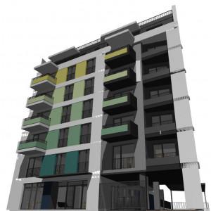 Apartament cu 3 camere, etajul 1, bloc nou, pret/mp 1137 Euro +tva North Side Residence