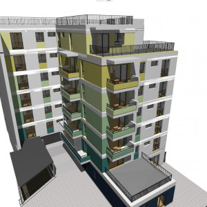 Apartamente noi de 3 camere, 77,77 mp utili plus balcon, zona str. Horea North Side Residence