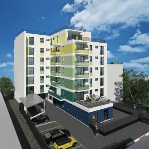 Apartament cu 2 camere, 55 mp, zona Garii, finalizare Iunie 2018, comision 0% North Side Residence